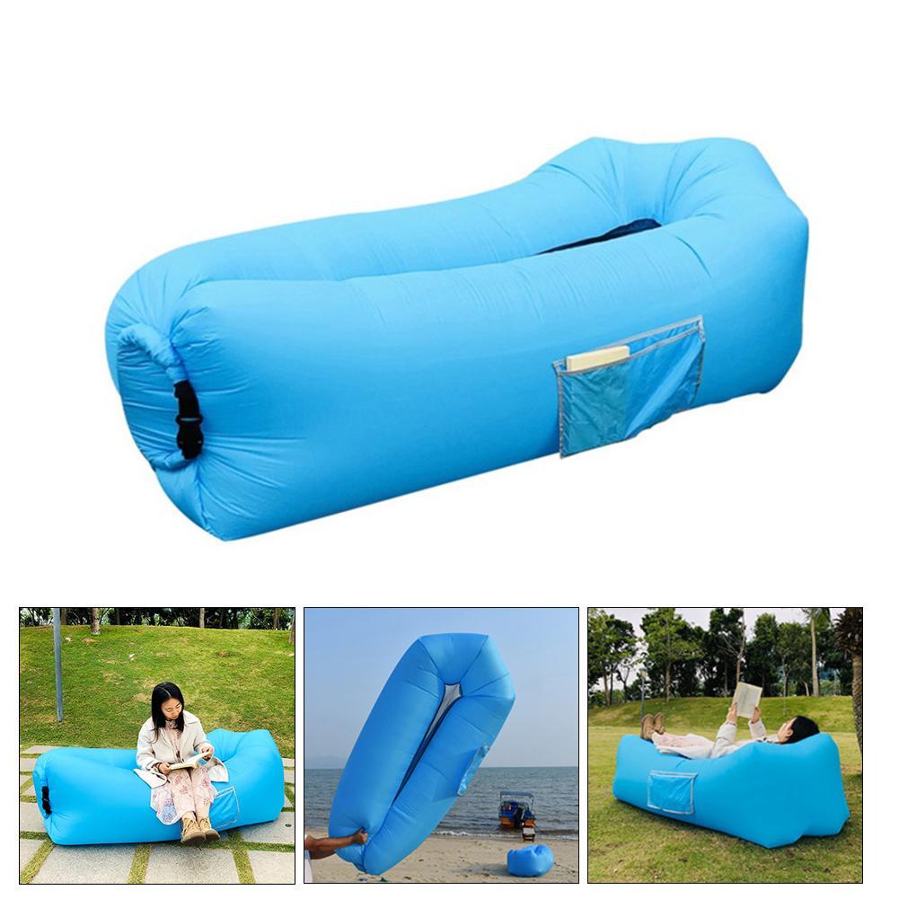 Nouveau canapé gonflable Portable en plein air canapé voyage accessoires de plage été natation eau canapé confortable