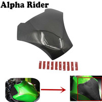 Tank Stickers Carbon Peel Fuel Tank Pad Side Protect For Kawasaki ER6N ER 6N 2012 2016