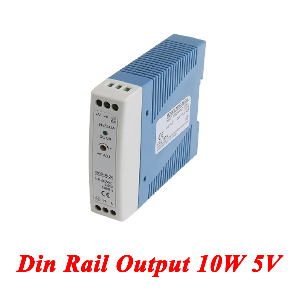 MDR-10 Mini Din Rail Power Supply 10W 5V 2A,Switching Power Supply AC 110v/220v Transformer To DC 5v,watt power supply ac 220 v to dc24 v switching power supply transformer 2a 120 w led monitor equipment power supply