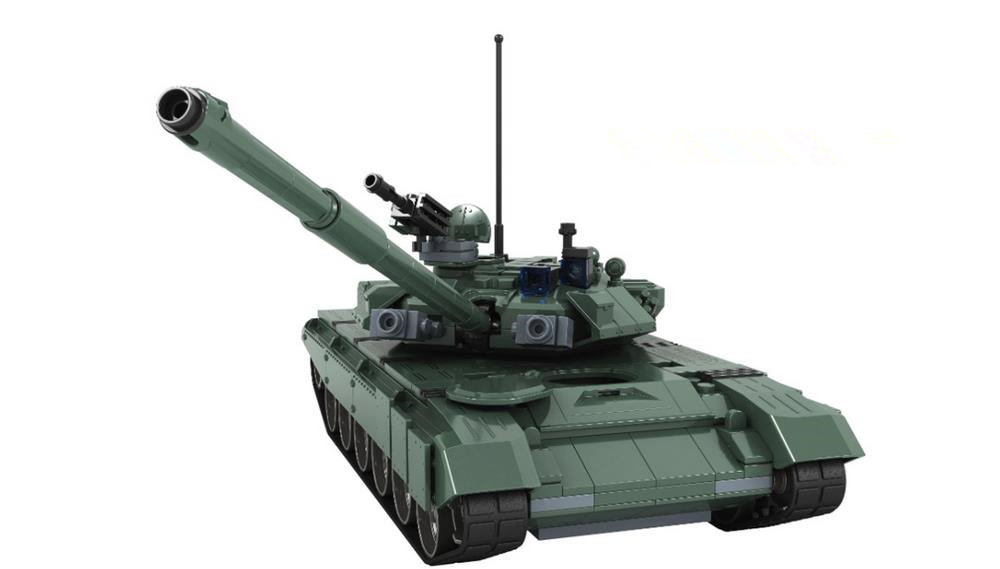 New Military Russia Classic Main Battle Tank T90 Building Blocks Model Compatible with Lepin Toys Bricks Best Gift For Children new lepin 16009 1151pcs queen anne s revenge pirates of the caribbean building blocks set compatible legoed with 4195 children