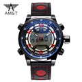 AMST Luxury Brand Mens Sports Watches Dive 50m Digital LED Military Watch Men Fashion Casual Electronics Wristwatches Hot Clock