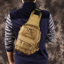 10 Color Outdoor Sport Bag Military Tactical Backpack Oxford Camouflage Messenger Shoulder Bags Camping Hiking Hunting