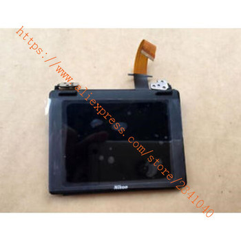 New For Nikon D750 LCD Screen Display Assembly With Hinge Flex Cable Repair Parts