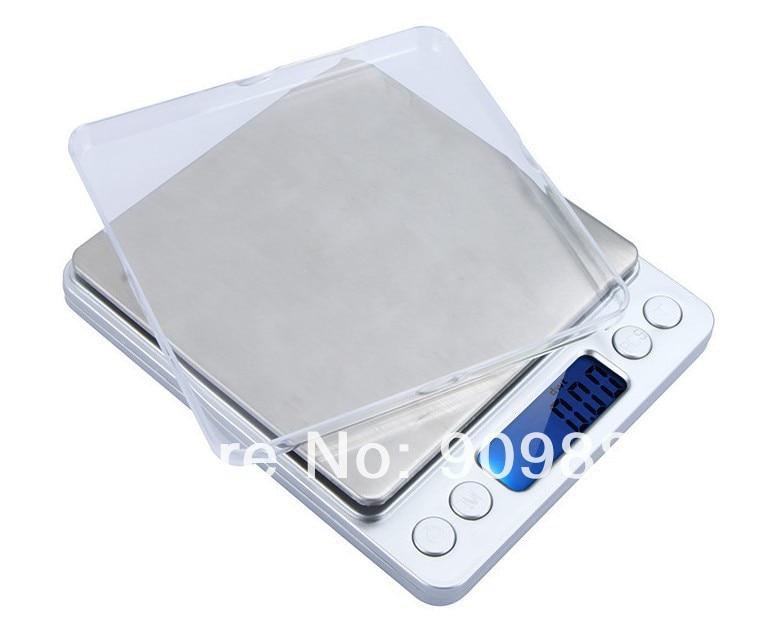 3000 g 0,1 g skaitmeninės kišeninės svarstyklės 3 kg 0,1 - Matavimo prietaisai - Nuotrauka 5
