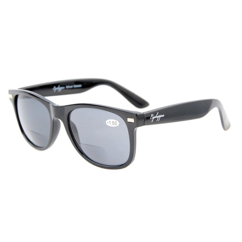 ANT Bifocale Eyekepper Bifocale lunettes de Soleil Des Femmes Des Hommes  Soleil Lecteurs Rétro Classique + 1.0 + 1.5 + 2.0 + 2.5 + 3.0 7058c238971f