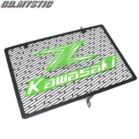 For Kawasaki Z750 Z800 ZR800 Z1000 Z1000SX Silver Motorcycle Accessories Radiator grille guard protection cover