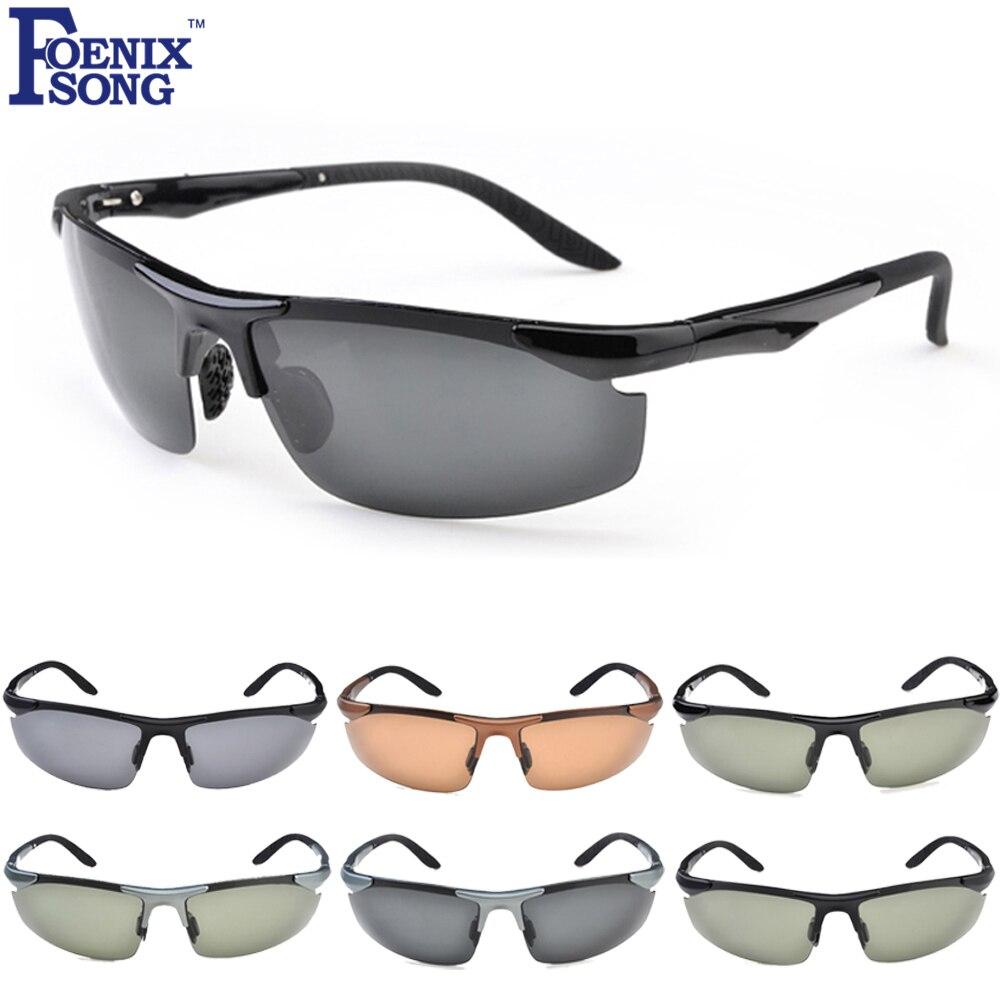 FOENIXSONG Sunglasses Women Men Fashion Polarized UV400 Protection Male Sun Glasses Female Oculos Gafas De Sol Flat Top Eyewear