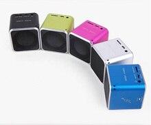 Оригинальные мини-Музыка Ангел JH-MD06D цифровой динамики для мобильного телефона ПК Поддержка Micro SD карты памяти MP3 altavoz Sprecher