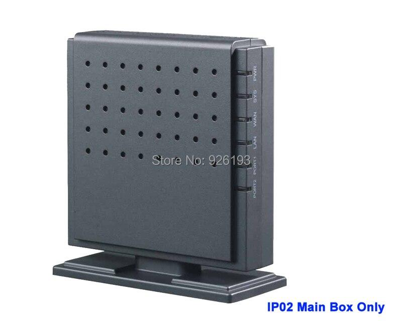 IPPBX02-0 astérisque analogique petit IP02 IP PBX boîte principale prend en charge 1 ~ 2 FXO ou FXS ports bureau affaires SIP système téléphonique