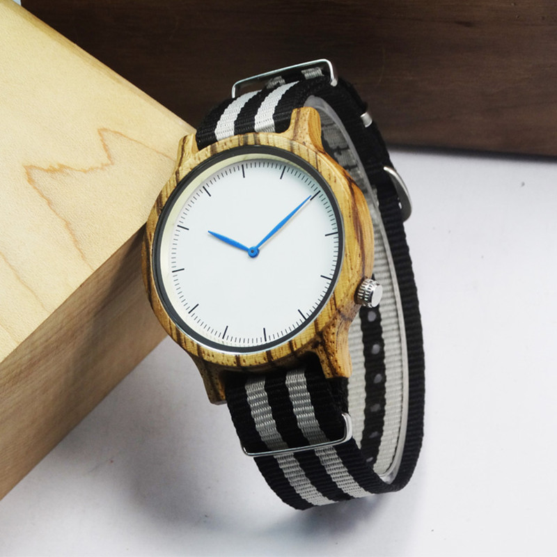 Brand Wooden Watch For Men Sports Wristwatch With High Quality Japan Movment In Paper Box