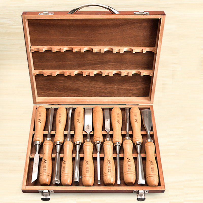 Professional Carving Chisel Wood Carving Hand Chisel Set Woodworking Professional Lathe Gouges Tools DIY Artcrafts Hand toos set|Hand Tool Sets| |  - title=