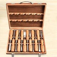 Профессиональное долото для резьбы по дереву ручное долото набор для резьбы по дереву Профессиональный токарный станок Инструменты для ре...