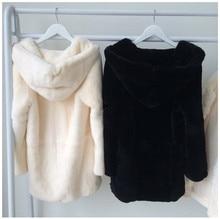 Real natural Genuine full pelt rex Rabbit Fur Coat whole skin fur jacket women fashion winter