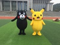 Талисман Kumamon медведь костюм талисмана обычай маскарадные костюмы Наборы персонажа из мультфильма костюм карнавал праздничный костюм