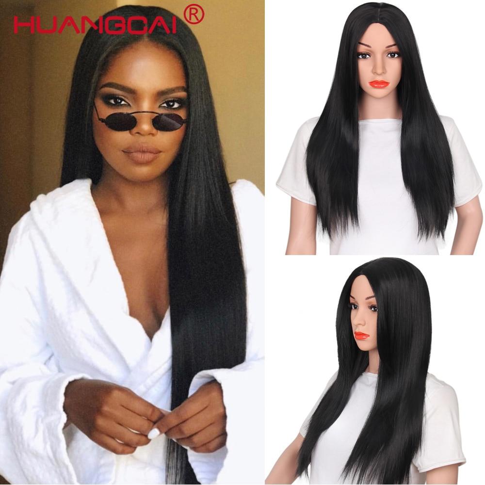 Lace Front Mänskliga Hårperor För Kvinnor Peruanska Pruikar Remy - Mänskligt hår (svart)