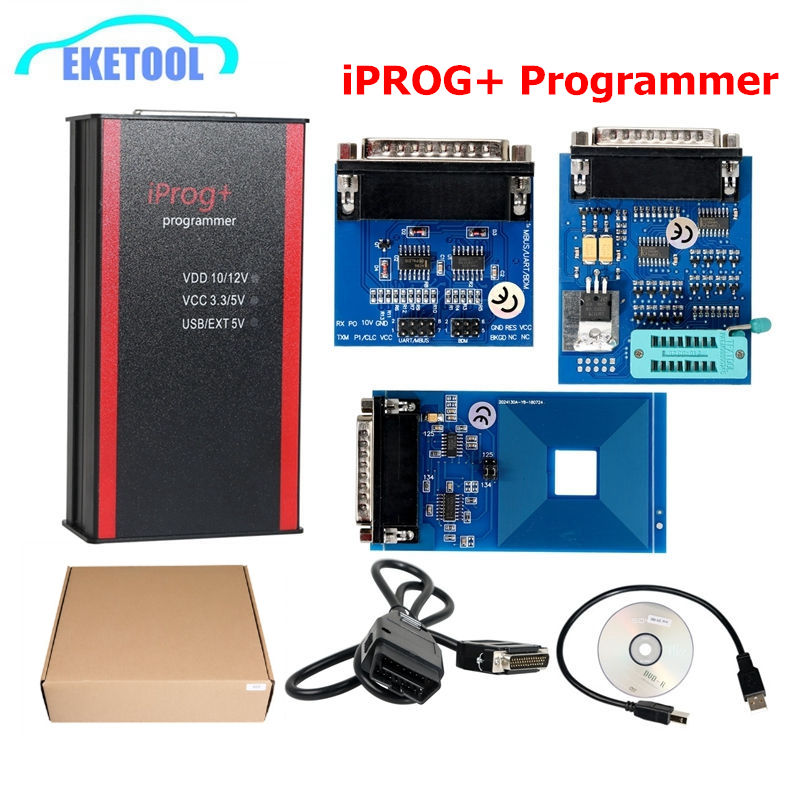 2019 Newest iPROG Prog Programmer iProg Supports IMMO Mileage Correction Airbag Reset Replace Carprog Digiprog Tango