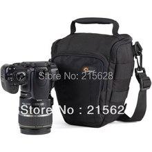 Lowepro Toploader Pro 65 AW Digital SLR Camera Bag Carry hombro profesional caja de la foto y cubierta de la lluvia para canon y nikon