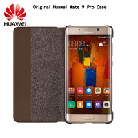 HUAWEI Mate 9 Pro Case 100 Original Brand Smart Window Flip Leather Case Cover For Huawei