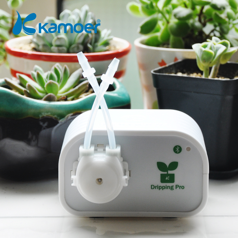 Kamoer DIY Automatic Flower Micro Drip Irrigation System plant watering device with Bluetooth connection