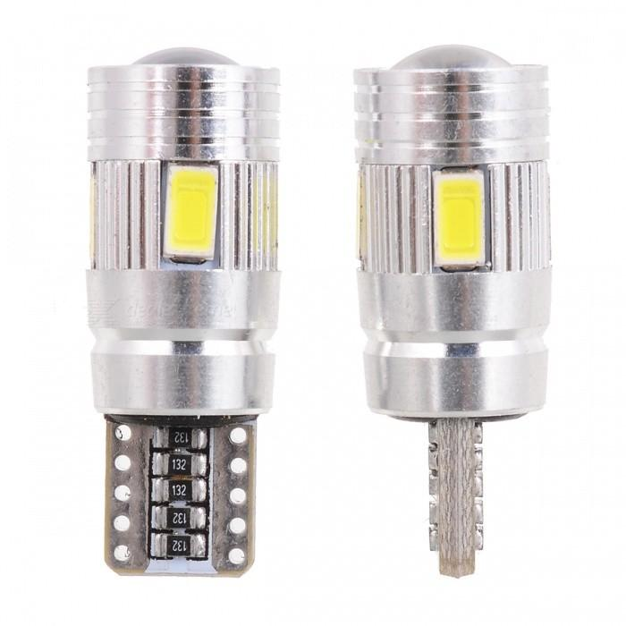 2 szt. T10 W5W 194 6W 6000K 6-SMD Z diod LED emitujących światło - Światła samochodowe - Zdjęcie 2