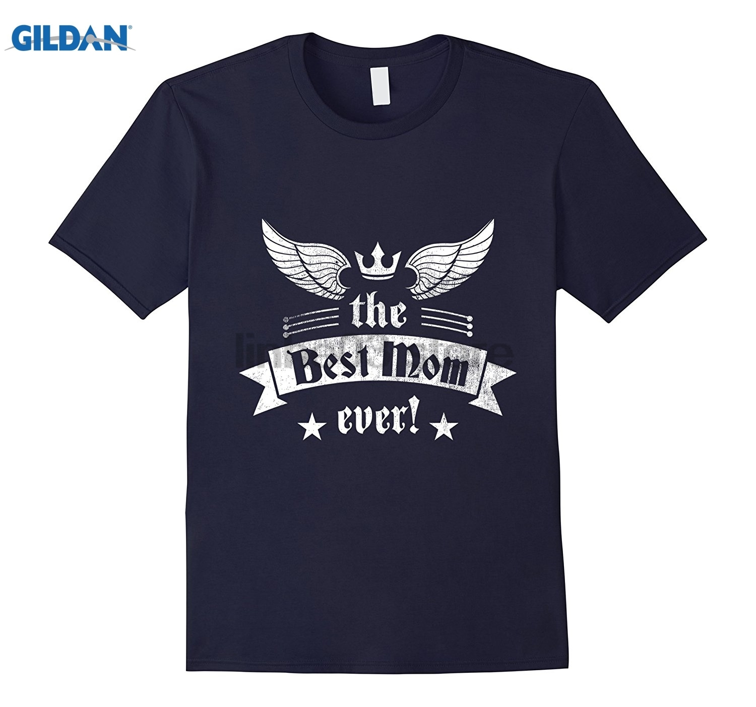 GILDAN Mothers Day 2017 Best Mom Ever T-shirt Gift Tee For Mama Womens T-shirt Mothers Day Ms. T-shirt