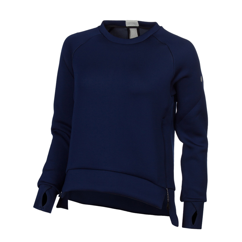 Female Sweatshirt ASICS 146419-8052 sports and entertainment for women sport clothes