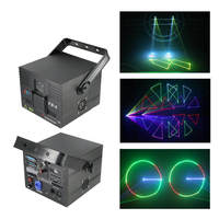 Sharelife 1W 2W RGB Animation ILDA DMX Bluetooth Laser Projector Light Home Gig Party DJ Show Stage Lighting Sound Auto FB6 A