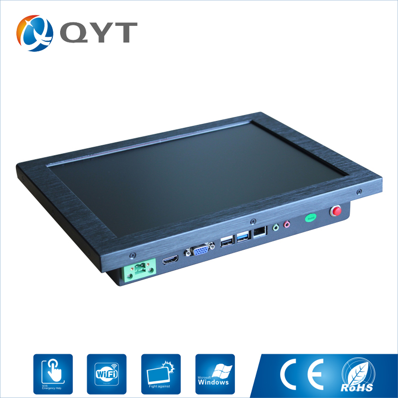 Panel Pc Industrial CPU Intel i5 3337U 1.8GHz 2GB DDR3 32G SSD Resolution 1280*800 Embedded Pc With HDMI RS232 4*USB RJ45 WIFI