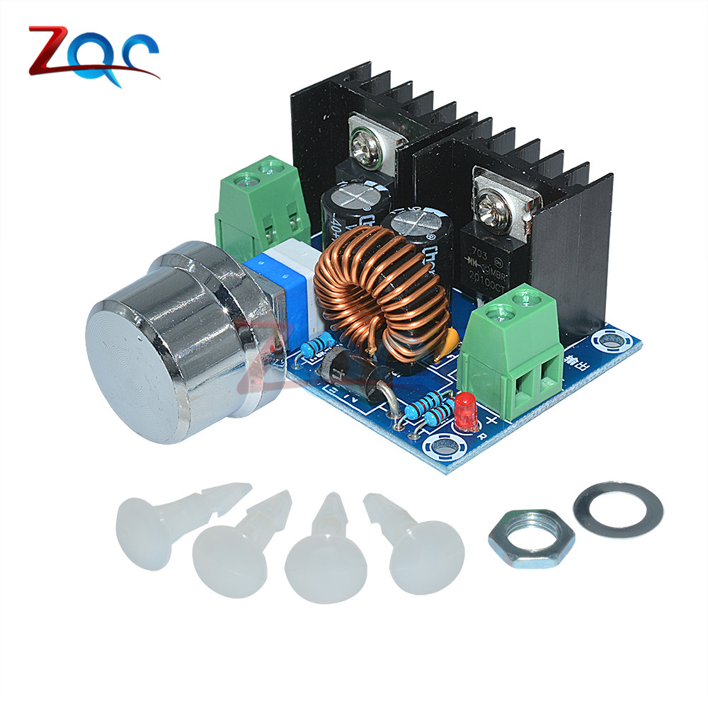 XH-M401 DC-DC Step Down Buck Converter Power Supply Module XL4016E1 PWM Adjustable 4-40V To 1.25-36V Step Down Board 8A 200W ...