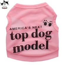 Ultrathin Breathable Dog Clothes Pet Vest Sleeveless T Shirt For Cat Puppy Teddy Clothing Summer Outdoor Sportwear