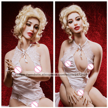 WMDOLL 162cm Real Silicone Sex Dolls Robot Love Doll Artificial Vagina Plastic Pussy Toys For Men