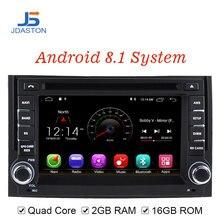 JDASTON Android 8,1 dvd-плеер автомобиля для hyundai H1 STAREX gps навигации 2 Дин Радио стерео Мультимедиа WI-FI данные беспроводного обмена карта