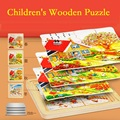 2017 Puzzle Toys For Children In Kindergarten Present For Intelligence System Of Early Childhood Wooden Plate Birthday Boy Girl