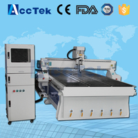 cnc service wood cnc router AKM1530 T slot table with Vacuum table cnc cutter wood plastic cnc router engraver