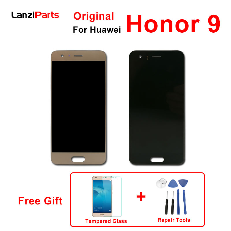 Original LCD for Huawei Honor 9 LCD Display Touch Screen with Frame Digitizer Assembly 5.15 inches for Huawei Honor 9 LCD-in Mobile Phone LCD Screens from Cellphones & Telecommunications