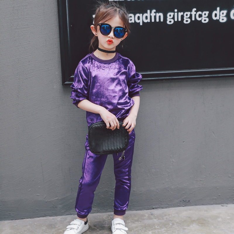 2-7Yrs Baby Girls Clothing Set Sport Outdoor Acticity Picnic Runing Clothes Autumn Spring Velour 2 pieces Baby Kids Clothes color picnic set