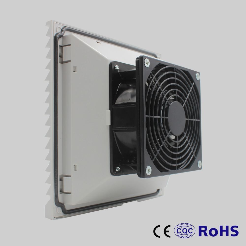 Us 11 02 5 Off 204 204 105 Mm 230v Low Noise Cabinet Panel Fan Filter With 12038 Axial Fan And Air Vent Guard Fk6623 230 In Fans From Home