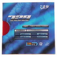 2 teile/los 729 sätze SUPER FX-729 (GuoYuehua) Zacken-im Tischtennis (PingPong) Gummi Mit Schwamm