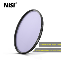 NiSi 2017 New 77mm Natural Night Filter 82mm (Light Pollution Filter) for Camera Lens
