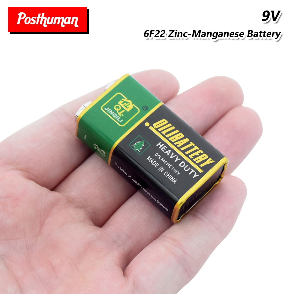 6F22 PPP3 6LR61 9V Battery Super Heavy Duty Dry Batteries Bateria Power High Discharge Large Current For Radio Alarm Toy