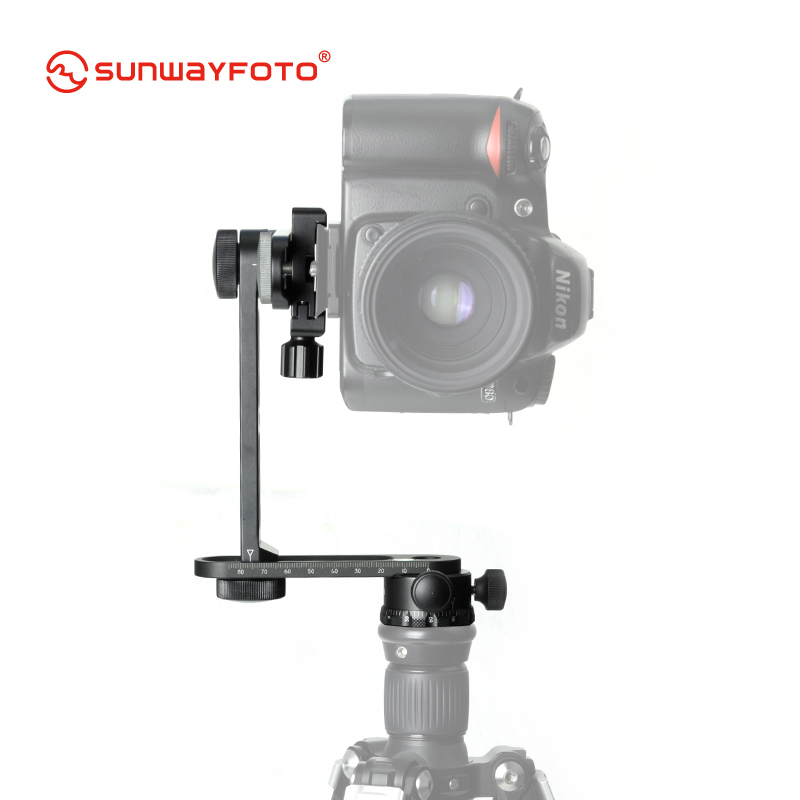 SUNWAYFOTO CR-30C штатив 360 панорамы для Dslr Professional Алюминий Мини Компактный панорамная головка