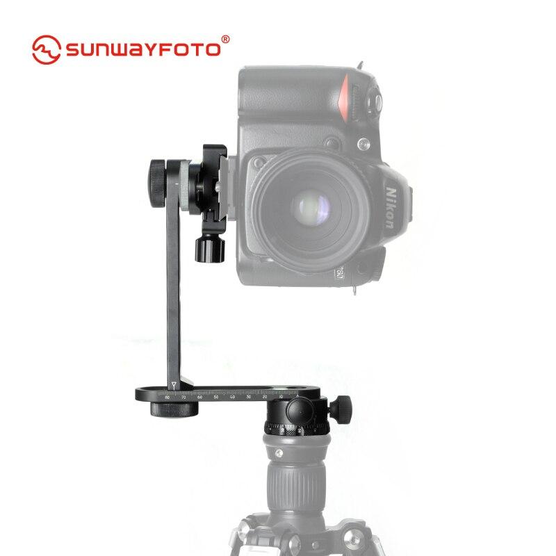bilder für Sunwayfoto cr-30c stativ 360 panoramen für dslr professionelle aluminium mini compact panoramakopf