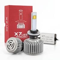 Super Bright H1 H3 H4 H7 H11 Car LED Head Light 80W 6000K 7200LM LED Light Bulbs For Automobiles LED Head Lamp Bulbs Kit