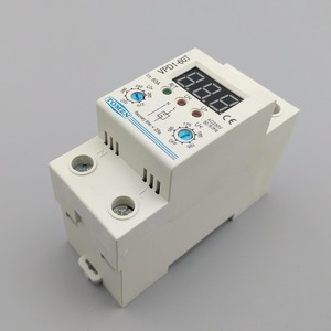 Image 5 - 60A 220V adjustable automatic reconnect over voltage and under voltage protection device relay with Voltmeter voltage monitor