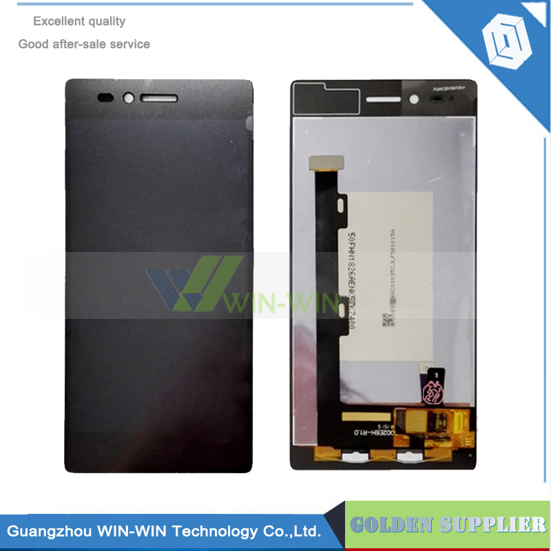 Black 100% New Full LCD DIsplay + Touch Screen Digitizer Assembly For Lenovo Vibe Shot Z90 Z90a40 Z90-7 Z90-3 Free shipping аксессуар чехол lenovo z90 vibe shot z90a40 zibelino soft matte zsm len vib shot
