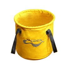 Alocs AC-Z02 11L Outdoor Folding Bucket Portable Water Holder Collapsible Fishing Barrel Food Storage Camping Hiking Bucket Bag