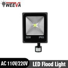 Wall Lamp AC 220V Garden Square LED Flood Light 10W 20W 30W 50W Floodlight LED Spotlight Outdoor Lighting Projector Reflector(China)