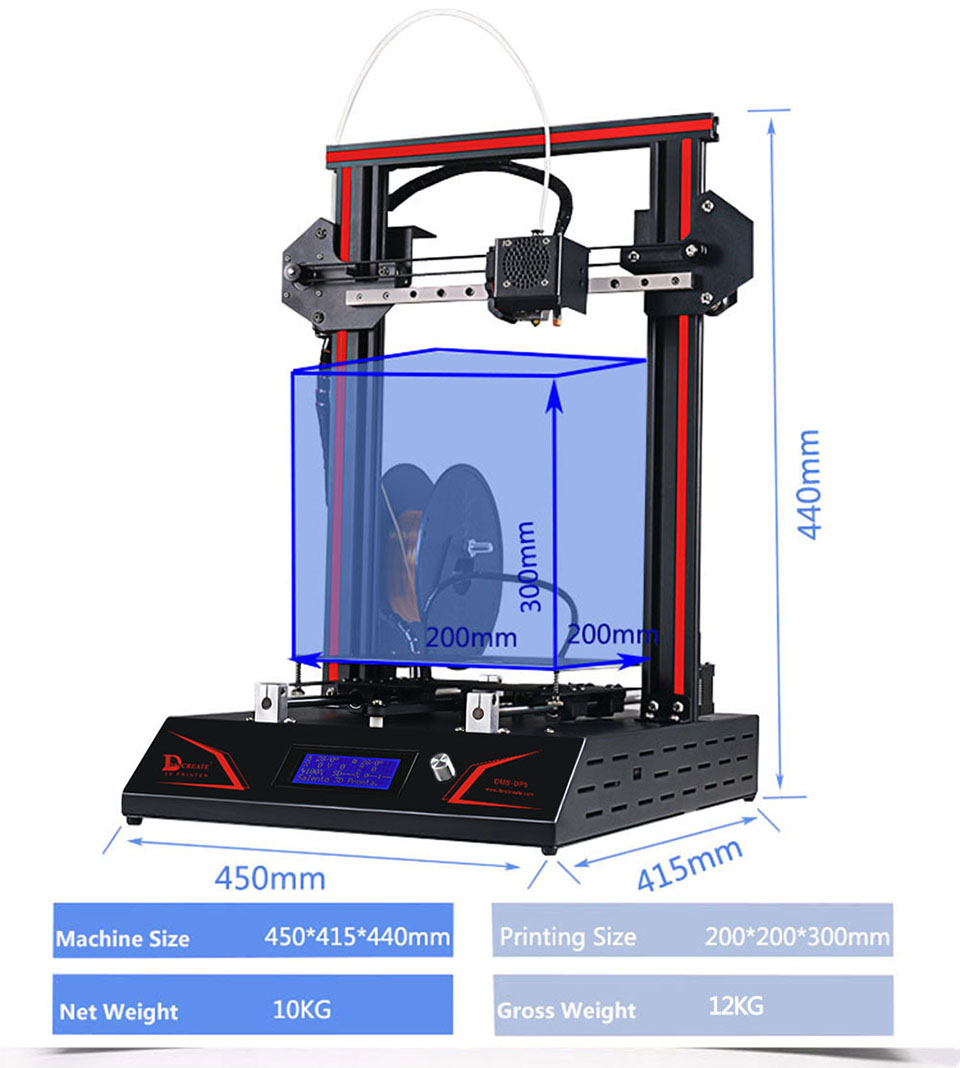 dp5 3d printer 1aa