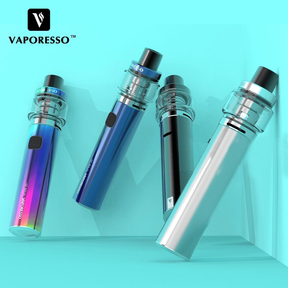 Kit de démarrage Original Vaporesso Sky Solo Plus 8 ml 3000 mAh/Sky Solo Kit de stylo vape 3.5 ml 1400 mAh utiliser bobine de maille GT AIO e-cig Kit de Vape