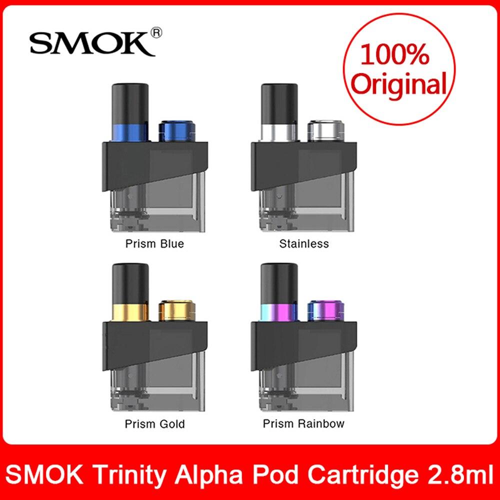 Original SMOK Trinity Alpha Pod Patrone 2,8 ml mit nord mesh spule für Elektronische Zigarette trinity alpha pod system kit